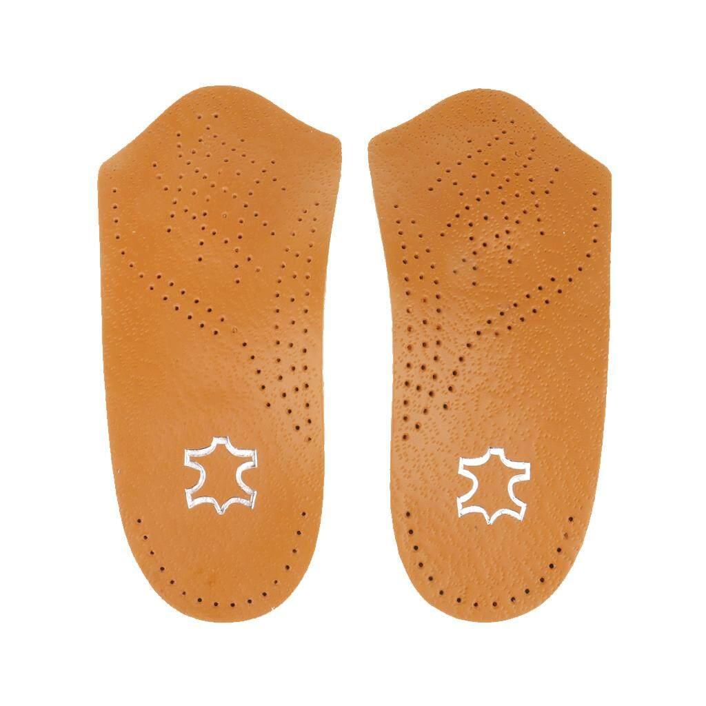 Hình ảnh MagiDeal Unisex 3/4 Arch Support Orthopedic Insoles Flat Foot Valgus Corrector XS - intl