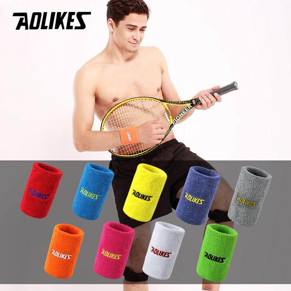 2 Pcs Gym Gelang Pelindung Angkat Berat Pergelangan Tangan Dukungan Sport Pergelangan Tangan Penahan Tenis Badminton