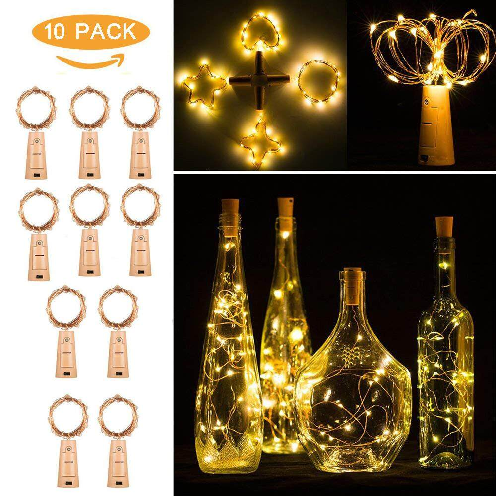 Led Lighting For Sale Lamps Prices Brands Review In Christmas Lights Circuit 555 Aquarium Docesty 10pcs 20 Night Fairy Waterproof Warm White Wine Bottle Party Intl