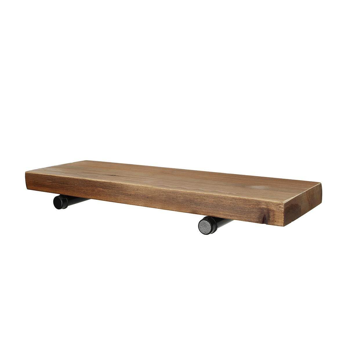8 Deep Industrial Floating Shelf, Rustic Shelf, Pipe Shelf, Industrial
