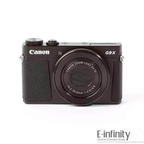 Canon PowerShot G9X Mark II Digital Camera Black G9 X II