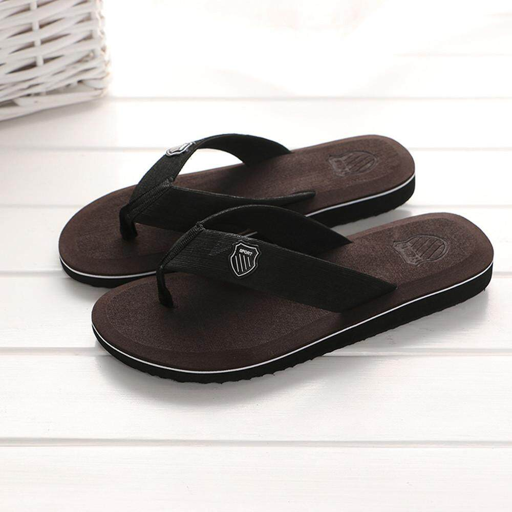 aa29ab9a2a9e22 Cozy Men s Summer Flip-flops Slippers Beach Sandals Indoor Outdoor Casual  Shoes - intl