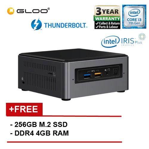 Intel BOXNUC7i3BNH i3/4G 256 SSD 2.40GHz Quad-Core Mini PC