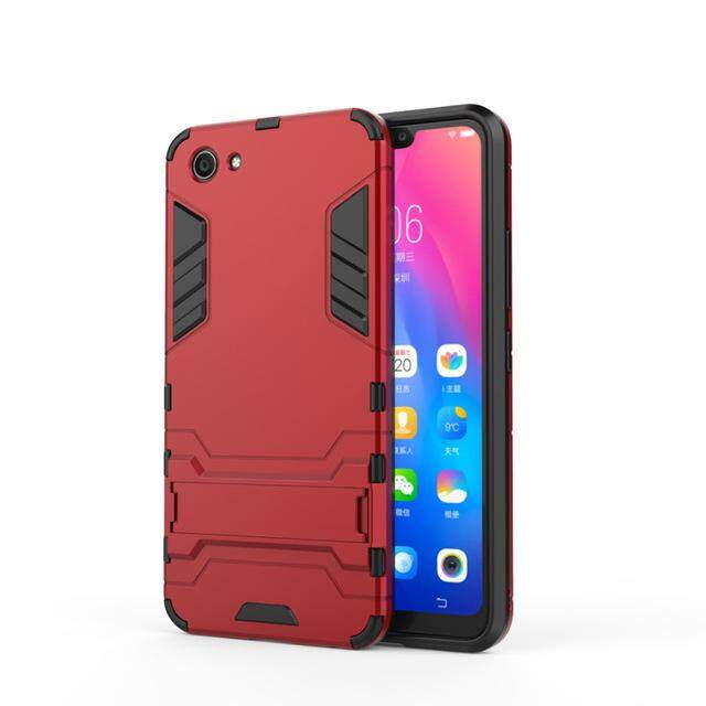 VIVO Y81 Case 6.22 inch Luxury Hybrid Silicone + TPU Back Cover Phone Case VIVO Y81