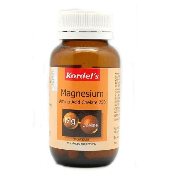 Kordel's Magnesium Amino Acid Chelate 750mg 60tab