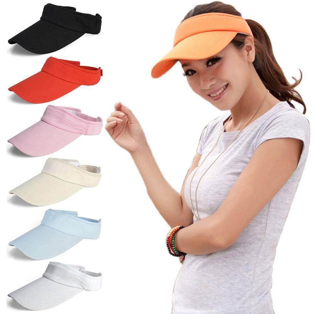 Brisky Womens Summer Golf Tennis Sports Cap Ladies Wide Brim UV Protect Sun  Visor HAT e1eaf0bd6cf