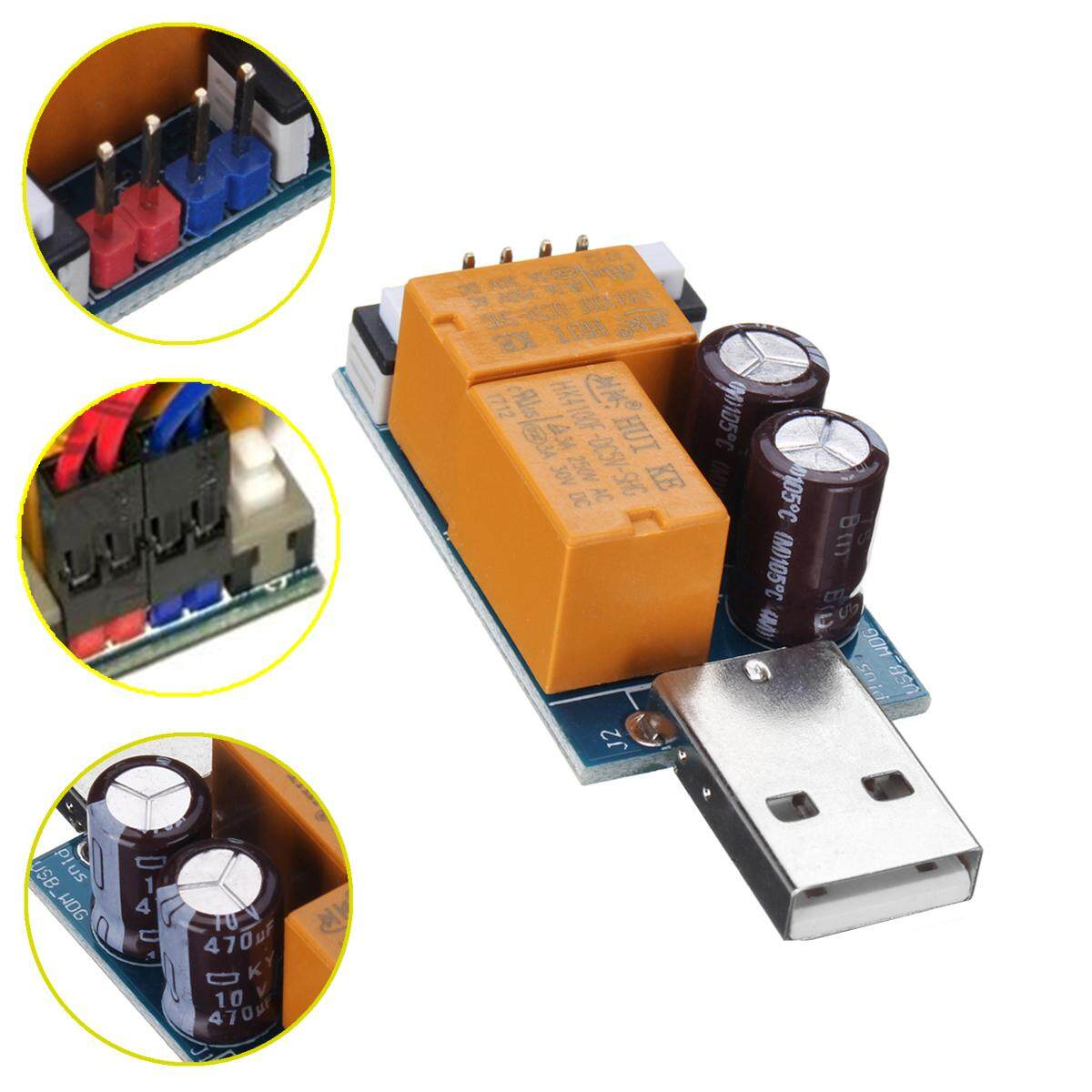 USB Watchdog Kartu Komputer Restart Biru Layar Mining Server Permainan BTC Miner-Internasional