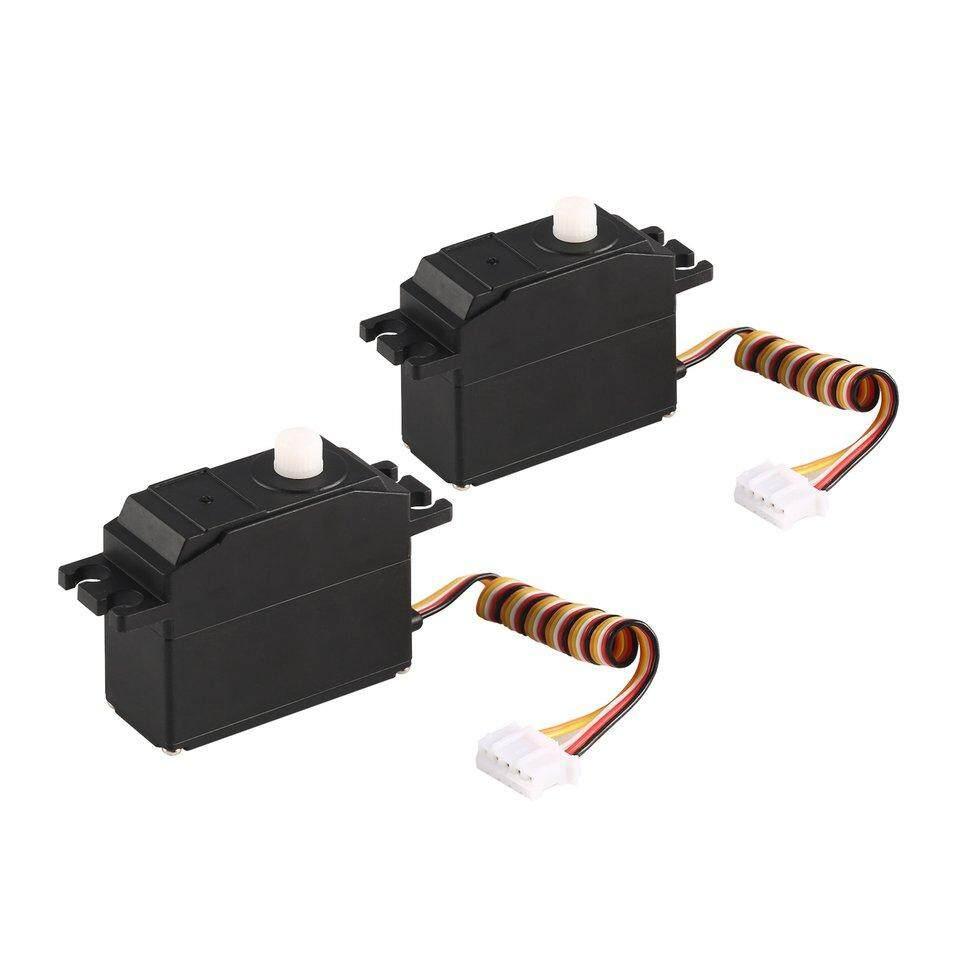 b 2pcs 25g Plastik Gear Servo untuk 1/12 Wltoys 12428 12423 RC mobil truk