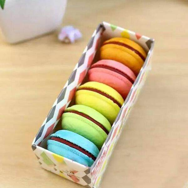 Mua Pencil Macaron Designed Fruit Style Rubber Eraser Students Stationery School - intl