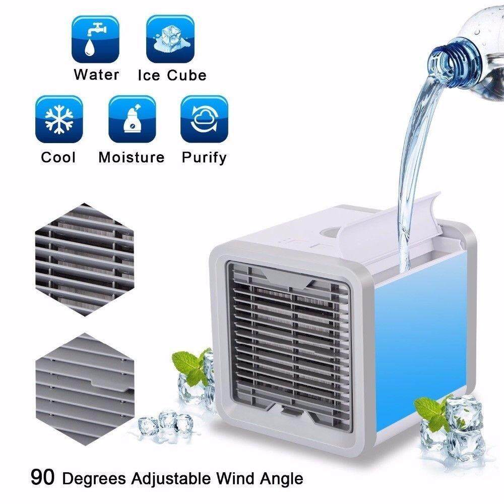 Home Appliances Small Air Conditioning Appliances Portable Mini Air Cooler Fan Air Conditioner Device Cooling Humidifier Purifier For Room Office Various Styles