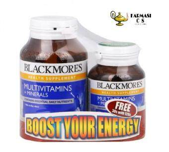 BLACKMORES Multivitamins + Minerals 120s+30s EXP:9/19