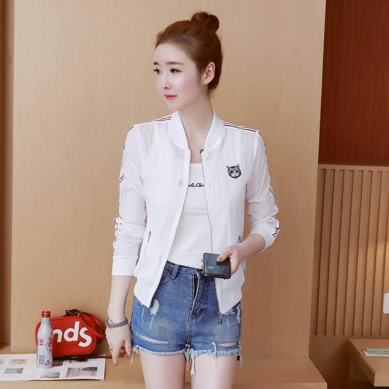 Baju pelindung matahari perempuan 2019 Musim semi dan musim panas model  baru Gaya Korea netral longgar d2e81b7607