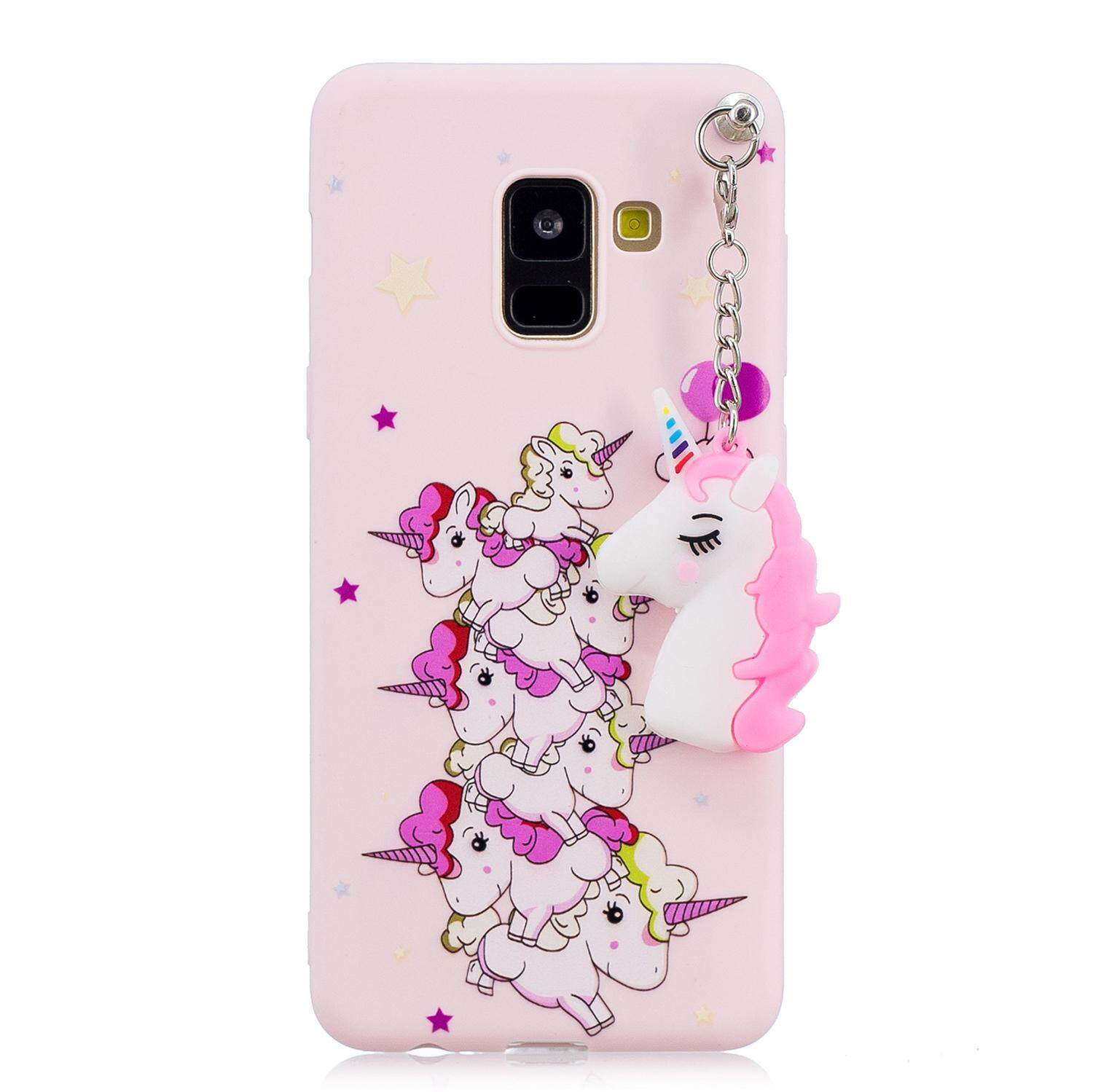Moonmini Case for Samsung Galaxy A8 Plus (2018) A730 Back Case Ultra Slim Fit