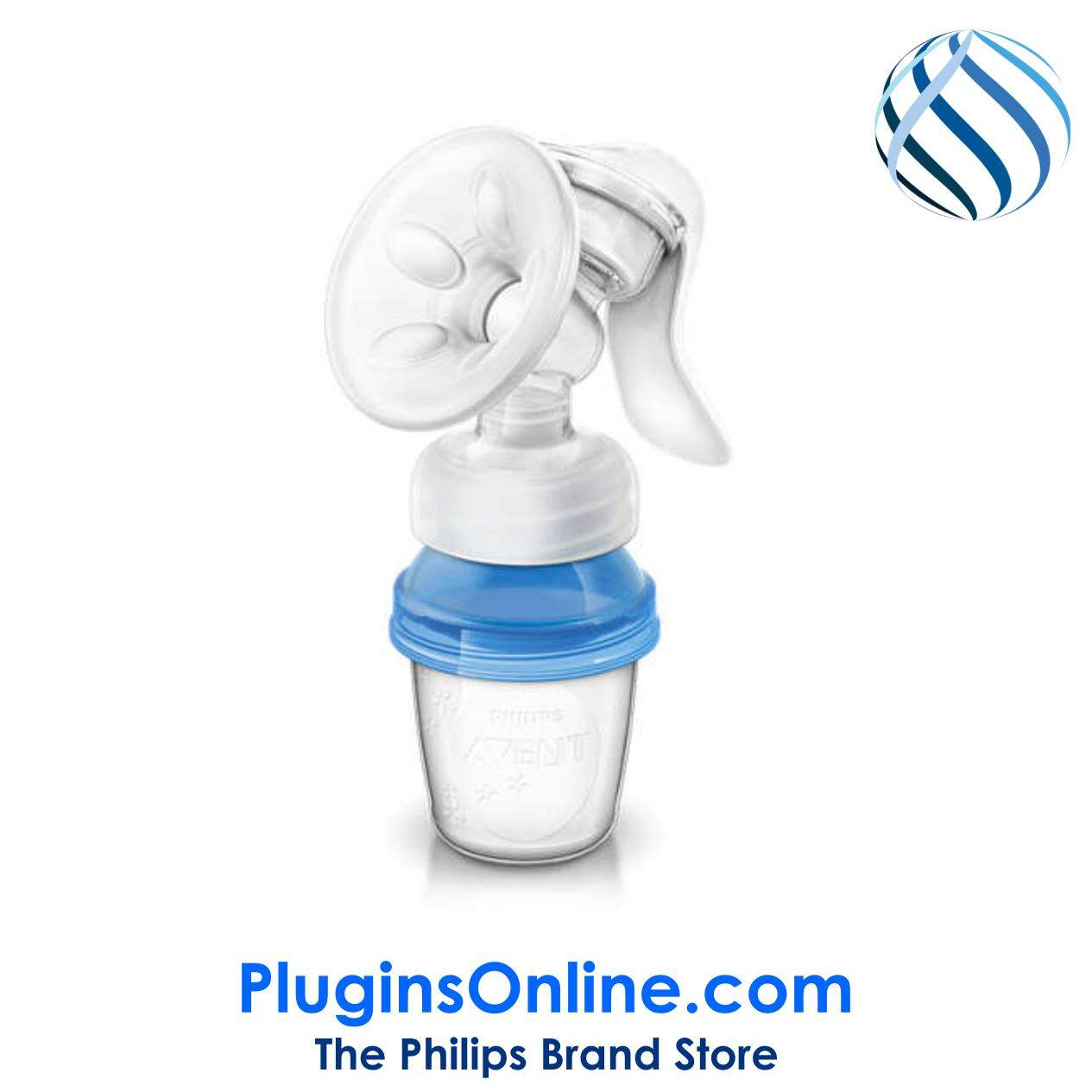 Philips Avent SCF330/13 Comfort Manual breast pump With via Cup (SCF330)