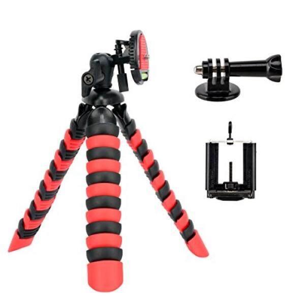 Tairoad 3 in 1 Flexible Mini Tripod for DSLR /Action Cam /Smartphone Bendable Tripod Selfie Monopod - intl