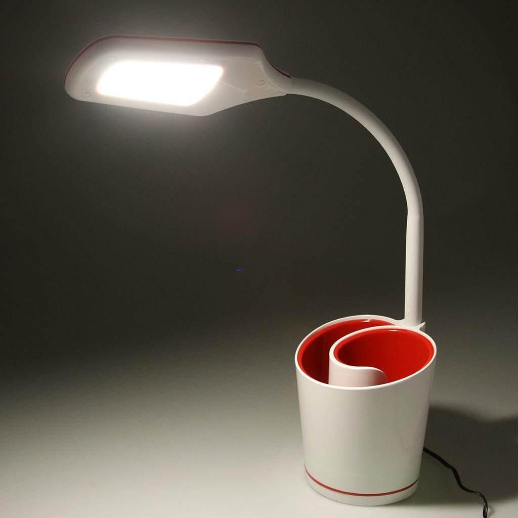 Perfk USB LED Night Light Touch Sensor Desk Table Lamp Office Home Decor