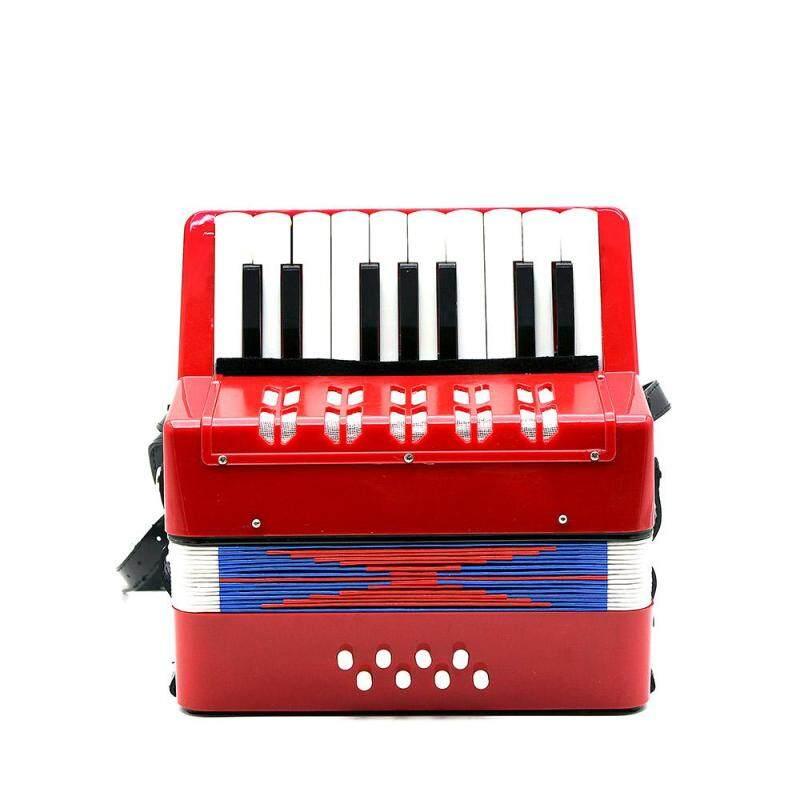 17-Chìa khóa 8 Bass Bộ Nhỏ Accordion Giáo Dục Dụng Cụ Âm Nhạc Nhịp Điệu Nhạc Đồ Chơi cho Trẻ em