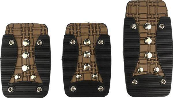 RACING DYNAMIC Old School Non Slip Manual Gear Transmission Pedal Pad Made in Korea (624F-Manual)