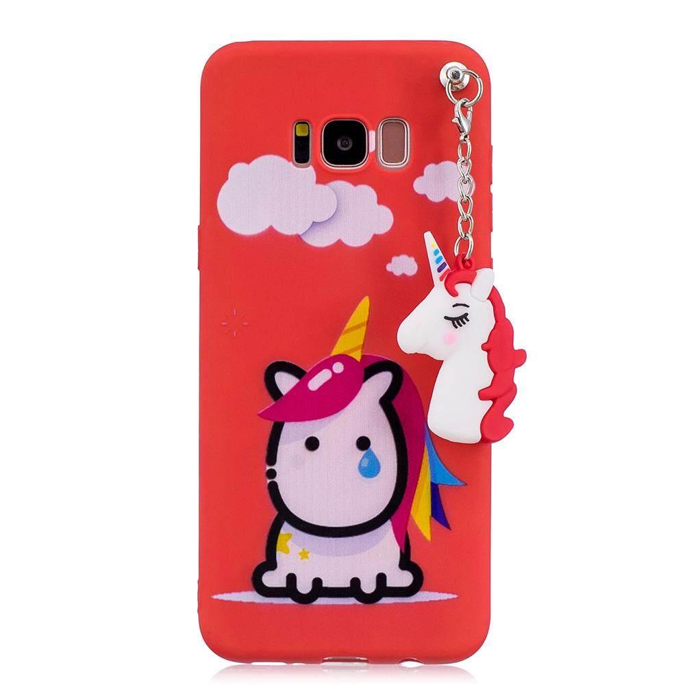 Moonmini Case for Samsung Galaxy S8 Back Case Ultra Slim Fit Transparent Soft TPU Phone Case