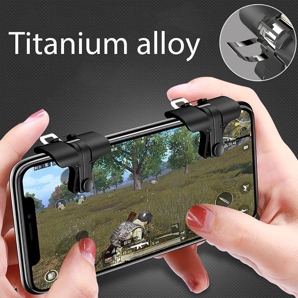 Fitur Aolvo 1pair Upgraded Version Pubg Ros And Mobile Phone Games L1 R1 Sharp Shooter Joystick Rule Of Survival Versi 3 Shortcut Key L1r1 Game