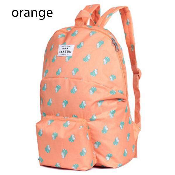 Korean Portable Folding Shoulder Bag Animal Pattern Multi Function Travel Bag
