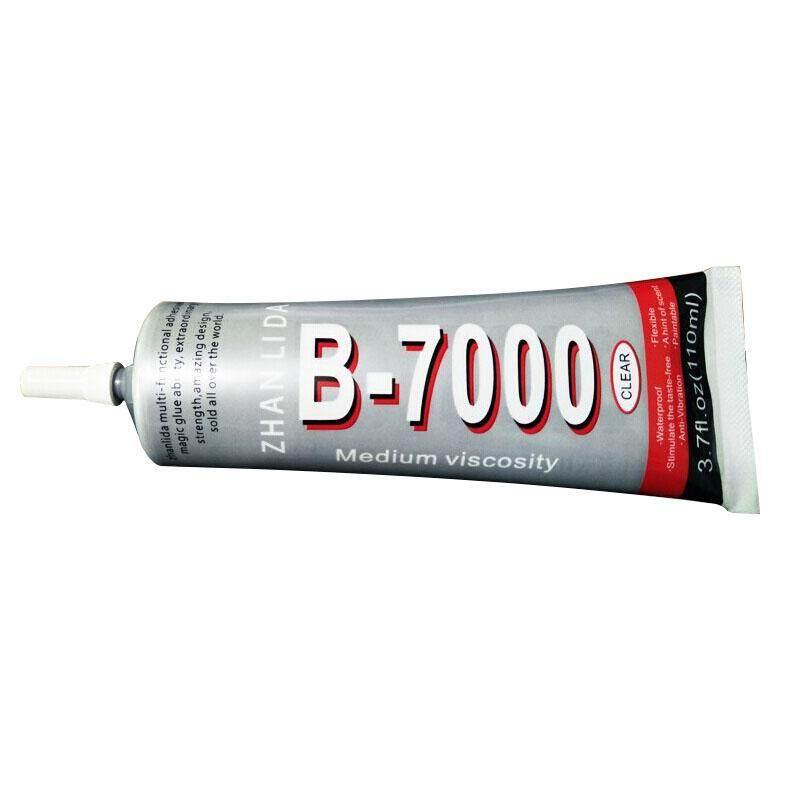 ZHANLIDA B7000 Punch drill bit drill glue plastic metal strong soft glue 110ml