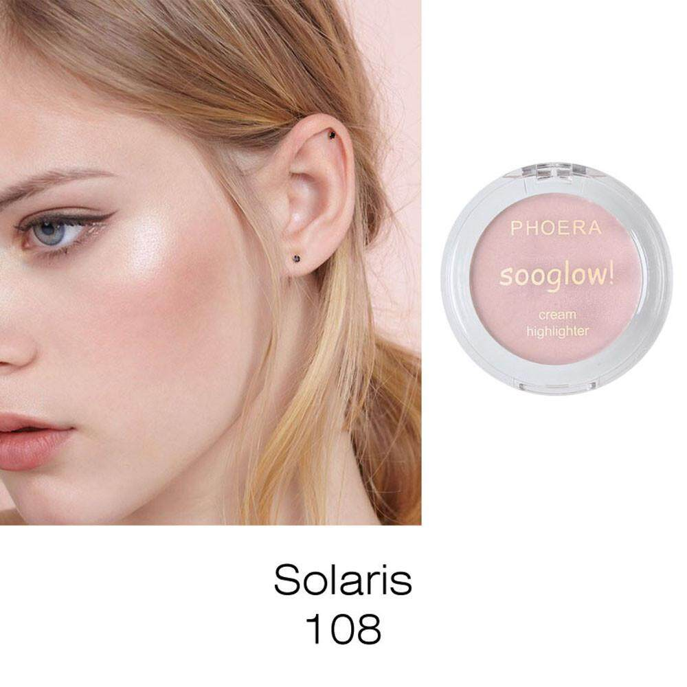 Lion PHOERA Highlighter Make Up Shimmer Cream Face Highlight Eyeshadow Glow Bronzer Philippines
