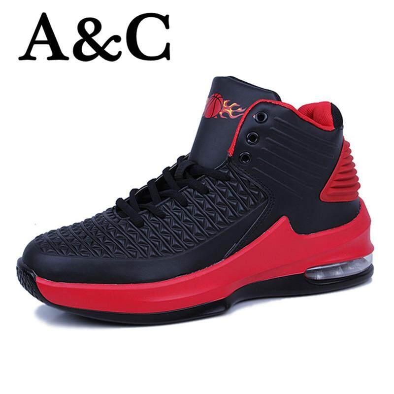 A   C Sepatu Olahraga Luar Ruangan Bantal Udara Sepatu Sneaker Latihan  Bernapas Comfort free c4708b0678