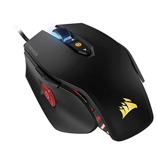 CORSAIR M65 Pro RGB - FPS Gaming Mouse - 12,000 DPI Optical Sensor -  Adjustable DPI Sniper Button - Tunable Weights - Black Singapore