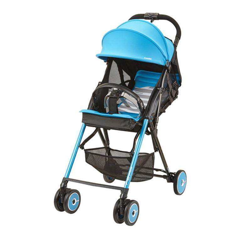 Combi Stroller F2 Plus AF Baby Lightweight Turquoise Green 165 Degrees Reclining