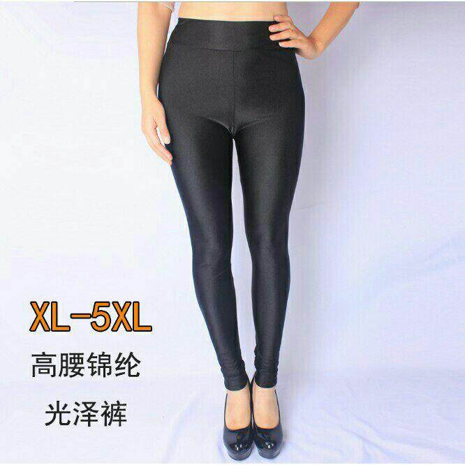 Plus size glossy legging