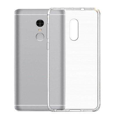 Tpu Silicone Case For Xiaomi Redmi Note 4/4x (transparent) By Tradeshoppe.