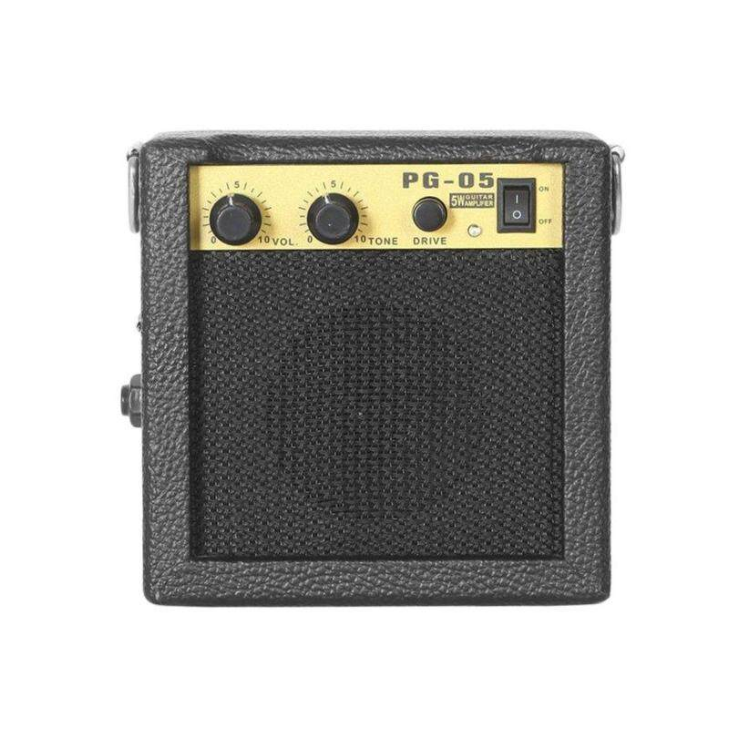 GOOD E-WAVE PG-05 5W Portable Guitar Amplifier Guitar Amp With 3 Inches Speaker black