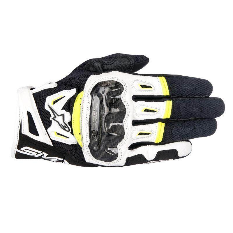 ALPINESTARS SMX-2 AIR CARBON V2 GLOVE (YELLOW/BLACK/WHITE) - [ORIGINAL]