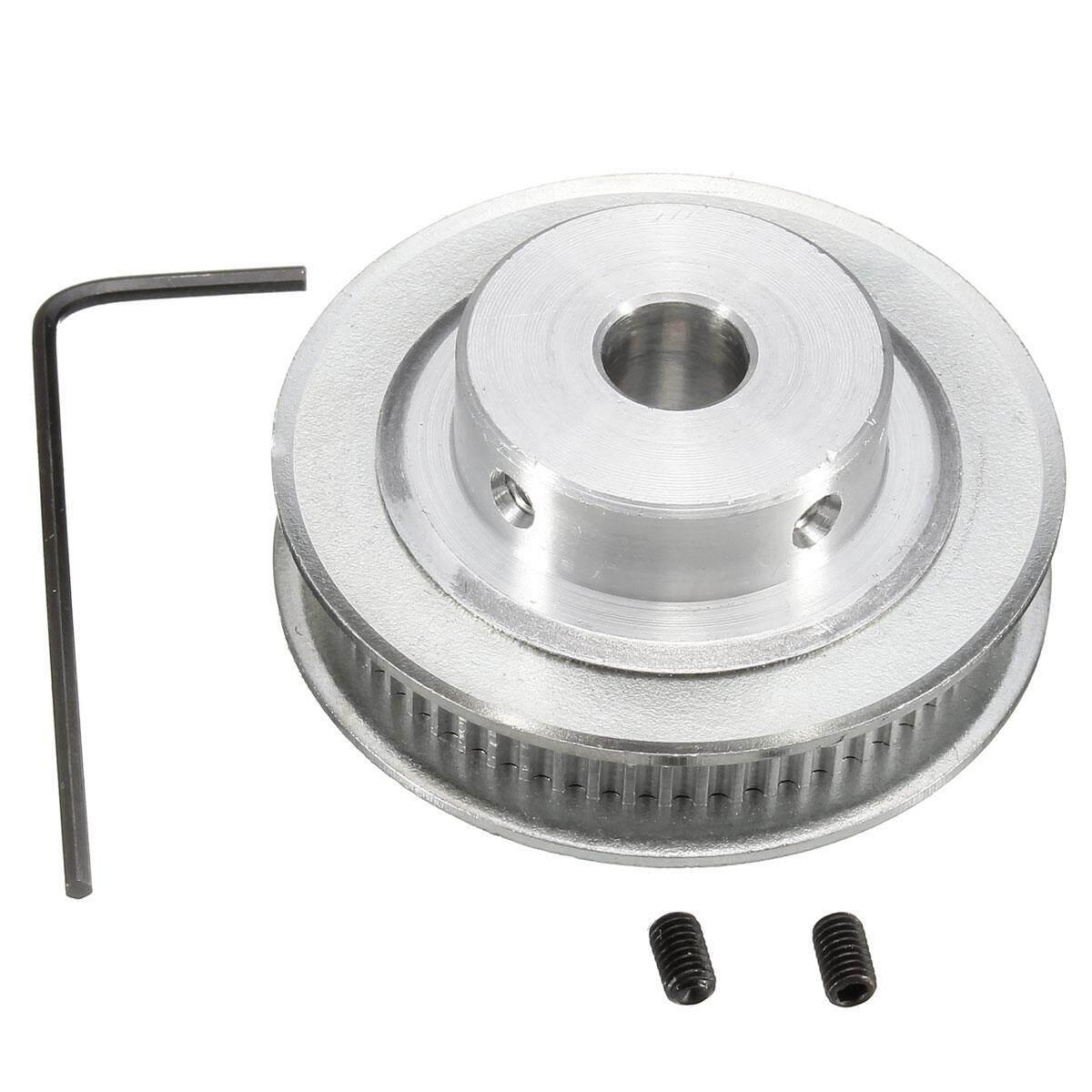 Gt2 Kerekan Ikat Pinggang Waktu Aluminium-8 Mm Bor-60 Gigi-Reprap 3d Printer Cnc By Audew.