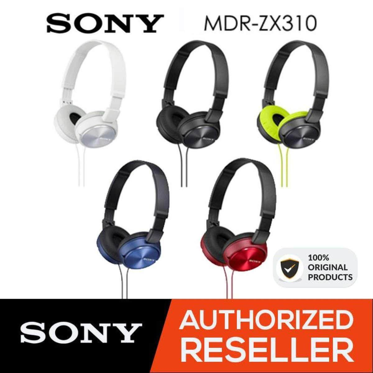Features Sony Mdr Zx310 Foldable Headphones Metallic White Original Xb55ap W Light Weight Wired Powerful Balanced Stereo