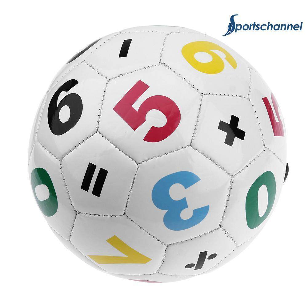 Size 2 Soccer Ball Children Football Intellectual Toy W/ Net Bag+air Needle By Sportschannel.