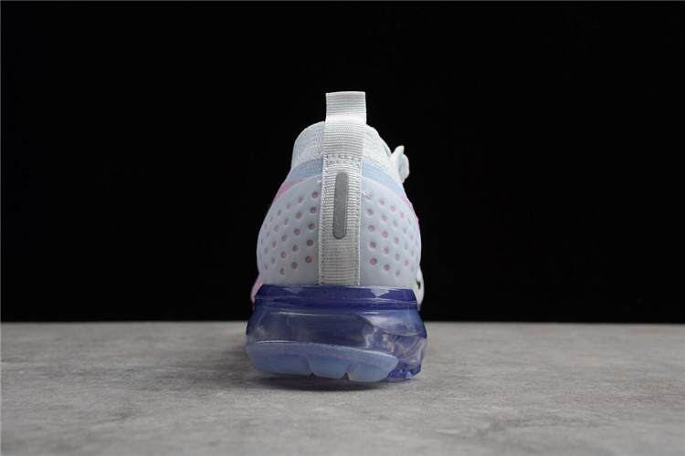 Nike Asli Air Vapormax 2018 Low Top Wanita Penjualan Global Sepatu Lari  (Abu-abu 5f2138db69
