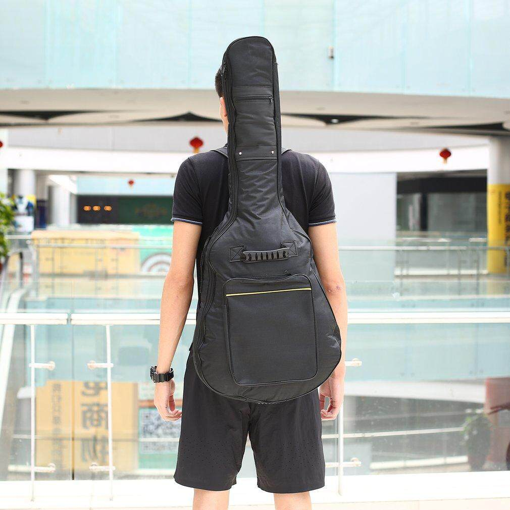 9652 Cm Kain Oxford Guitar Gig Case Tas Bahu Dengan Saku Spec Dan Cort Cgb31 Bag Black Elec Waterproof Backpack Electric