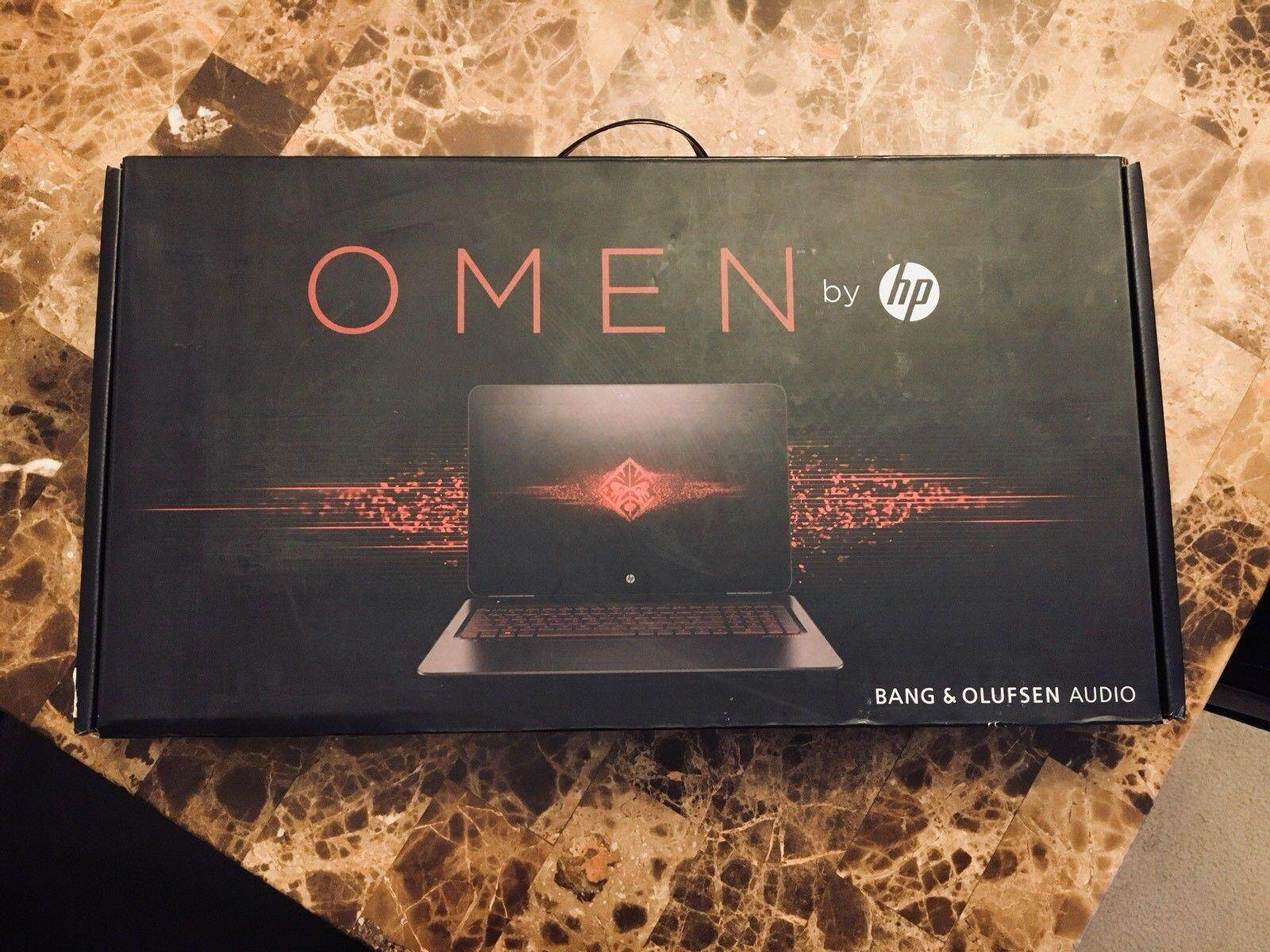 Sealed HP Omen 15-ax250wm IPS Gaming Laptop 1TB 12GB i7 NVIDIA GTX 1050Ti Malaysia