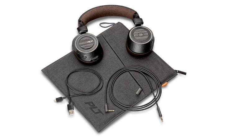 Original Plantronics BackBeat PRO 2 - Wireless for travel and work Over-the-Headphones BLACK