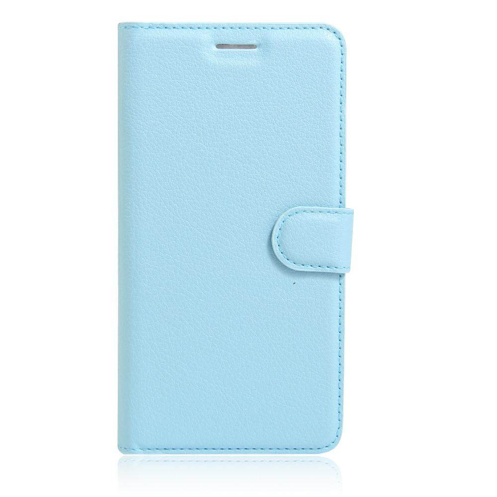 PU Leather Flip Cover Wallet Card Holder Case For Alcatel idol X / OT6040D - intl