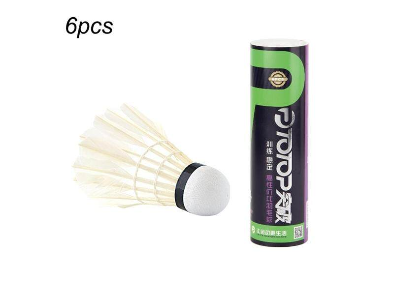 Hình ảnh 6pcs/set Badminton for Competition Gaming Shuttlecock Indoor Outdoor Sports - intl