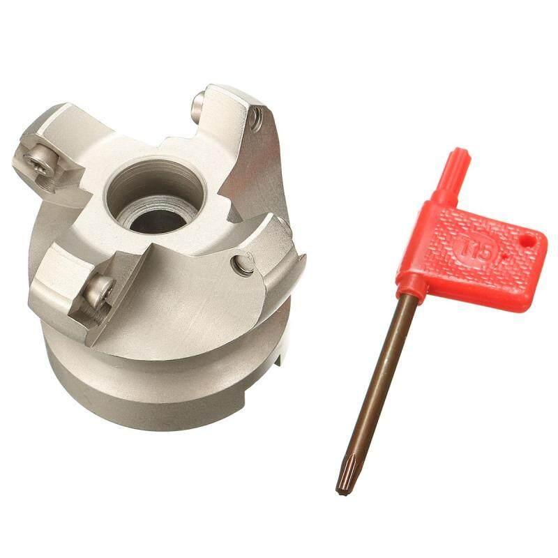 KM12 50-22-4F Indexable Face Milling Cutter Lathe 45 Degree For SEKT1204 Insert
