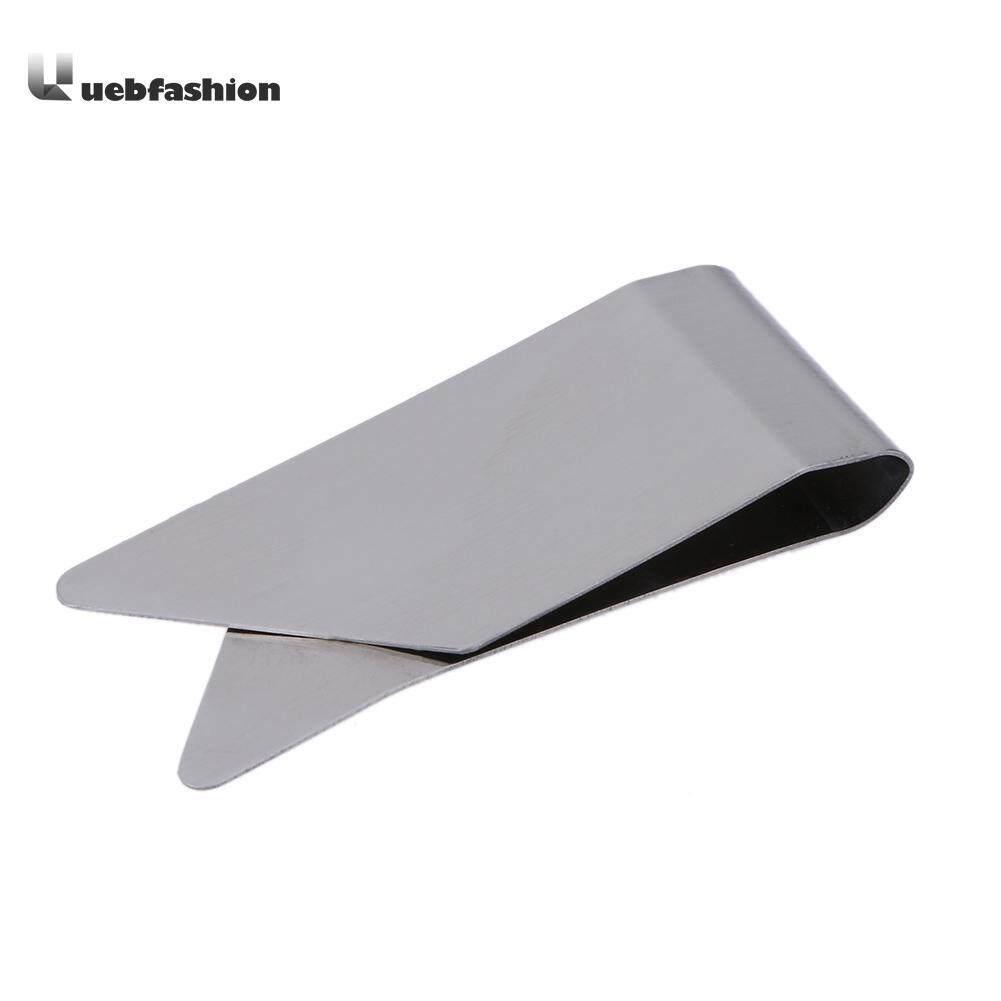 Fashion Men Wallet Big Paper Clip Stainless Steel Alloy Slim Money Clips Women