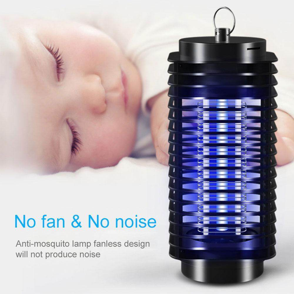 Teekeer (us/uk Plug)electric Bug Zapper Camping Lantern Tent Light, 2 In 1 Mosquito Killer With Uv Light Trap For Camping,home, Backyard, Patio, Porch, Garden, Deck By Teekeer.
