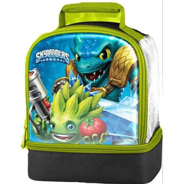 Skylanders Trap Team Licensed Dual Compartment Lunch Kit - 100% PVC Free  with Peva Linings 8bef81f1f5bac