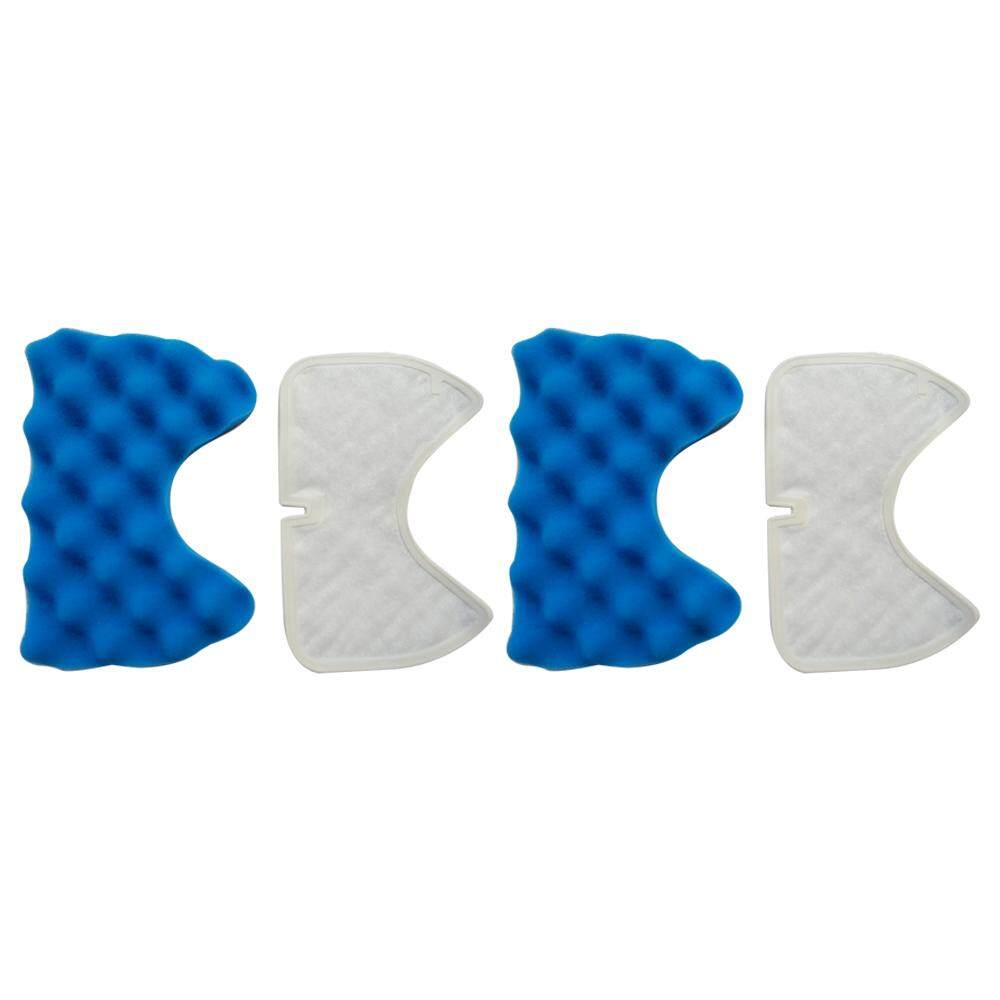 2x filter + 2x cotton filter vacuum cleaner filters Hepa Part For Samsung Cup SC65 /66/67/68 series Vacuum Cleaner dust filter - intl