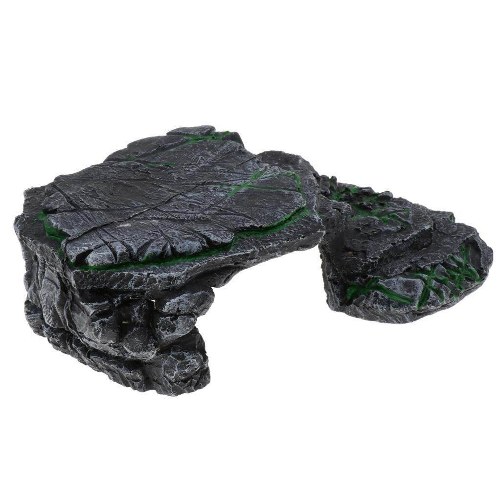 Bolehdeals Reptile Basking Platform Turtle Corner Ramp Reptile Supplies Type 2 By Bolehdeals.