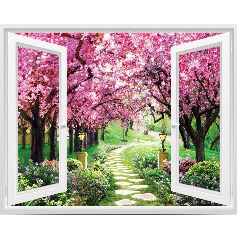 3D Wall Stickers, Living Room Bedroom Bedside Wall Decoration Stickers -60*50cm